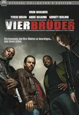 DVD-Cover: Vier Brüder <br><font color=silver>Special Collector's Edition</font>, mit Mark Wahlberg, Tyrese Gibson, André