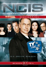 DVD-Cover: Navy CIS <br> <font color=silver>Staffel 2</font>, mit Mark Harmon, Sasha Alexander, Michael Weatherly, Pauley Perrette, David McCallum, Sean Murray, ...
