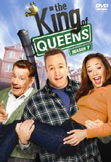 DVD-Cover: King of Queens <br> <font color=silver>Staffel 7</font>, mit Kevin James, Leah Remini, Jerry Stiller, Victor Williams, Patton Oswalt, Nicole Sullivan, Gary Valentine, Lou Ferrigno, ...