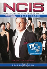 DVD-Cover: Navy CIS <br> <font color=silver>Staffel 3</font>, mit Mark Harmon, Michael Weatherly, Sean Murray, Cote de Pablo, Pauley Perrette, David McCallum, Brian Dietzen, Lauren Holly, ...