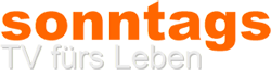 sonntags - TV fürs Leben | Moderation: Alexandra Vacano | Im Mittelpunkt des Magazins stehen religiöse Lebenswelten, gesellschaftliche Wertvorstellungen und individuelle Lebensstile. Zum Themenspektrum gehören die Bereiche Religion, Kirche, Ethik, Psychologie und Gesellschaft, aber auch Boulevardthemen, Kultur und Grenzerfahrungen. Es geht um Fragen rund um das Leben.